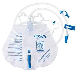 Rusch Premium Bedside Drainage Bag 390000 Teleflex