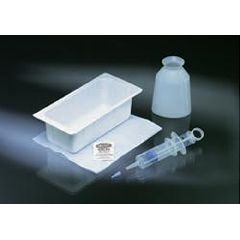 Bard Foley Catheter Irrigation Tray Piston Syringe Sterile