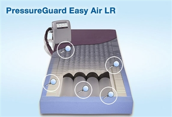 span america easy air lr lowairloss therapy with alternating pressure or